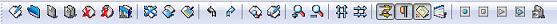 Мелкие значки панели инструментов Notepad++