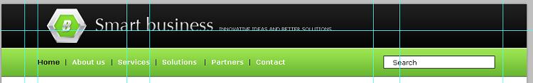 Как создать горизонтальное меню для сайта. Продолжаем создавать шапку сайта. HTML макет сайта