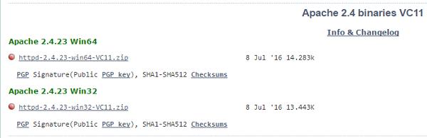 Страница загрузки веб-сервера Apache