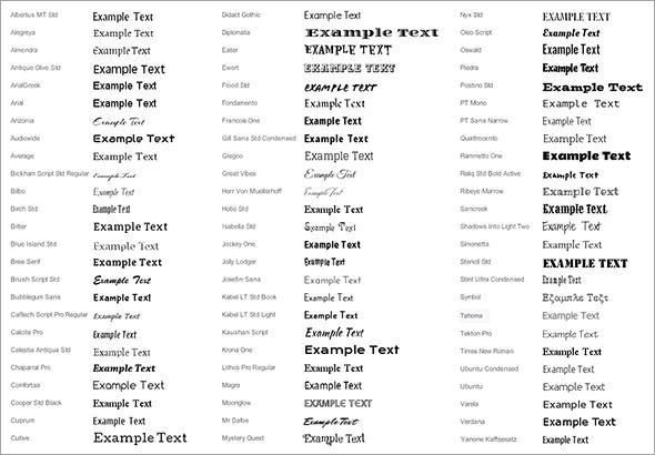 HTML шрифты: работаем со шрифтами в HTML