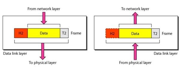 работа канального уровня модели osi