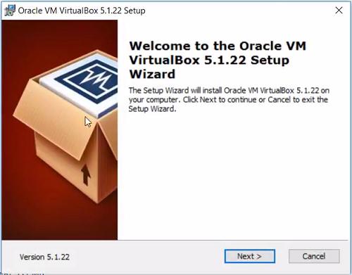 Второй шаг установки Oracle VirtualBox на Windows