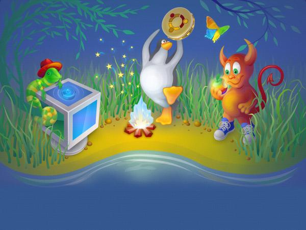 Обзор интерфейса управления виртуальной машиной VirtualBox