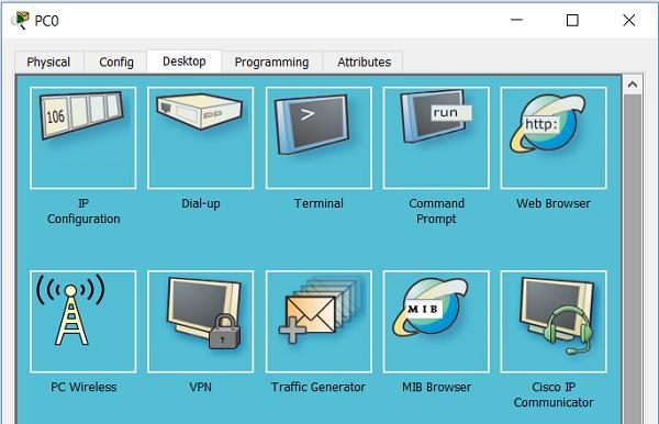 4.10.8 IP настройки на ПК в Cisco Packet Tracer
